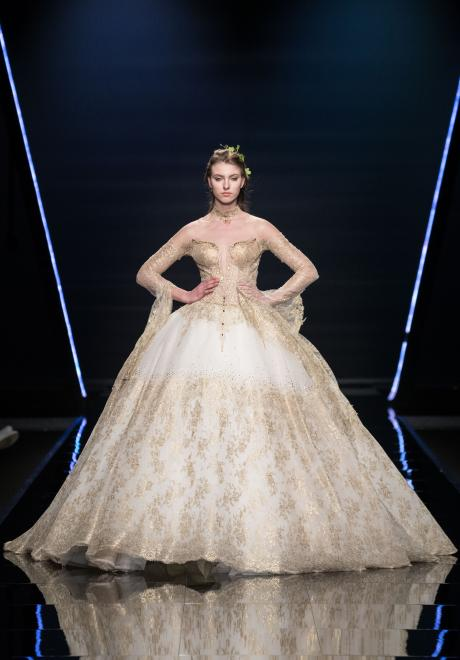 The 2019 Caravaggio Wedding Dress Collection by Emiliano Bengasi