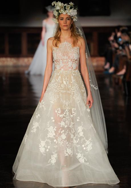 Reem Acra 2019 Wedding Dress Collection