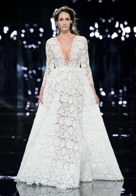 2019 Long Sleeve Wedding Dress 10