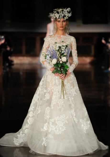 2019 Long Sleeve Wedding Dress 6