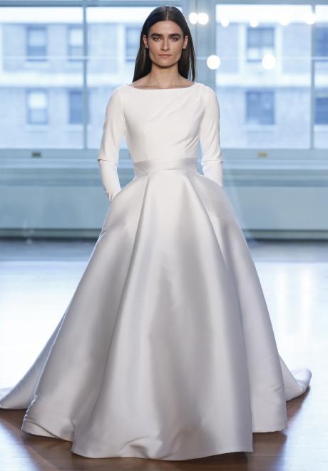 2019 Long Sleeve Wedding Dress 8