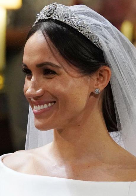 تسريحات اعراس مستوحاة من تسريحات ميغان ماركل