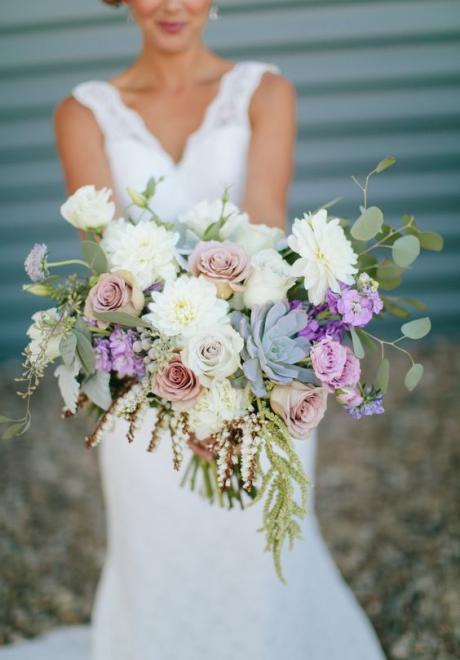 Wedding Bouquet Idea: Andromeda Flowers