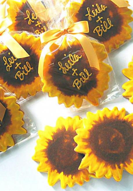 Sunflower Wedding Theme 4