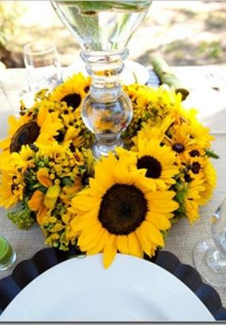Sunflower Wedding Theme 3