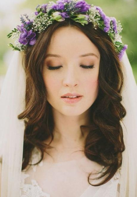 Natural and Soft Makeup For Brides