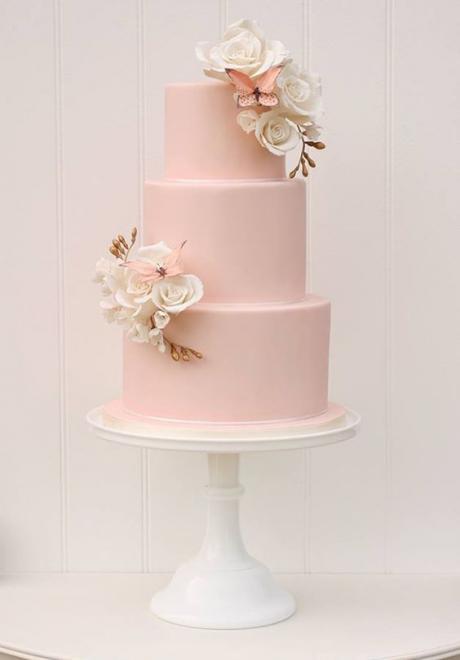 Pink Wedding Cake 4