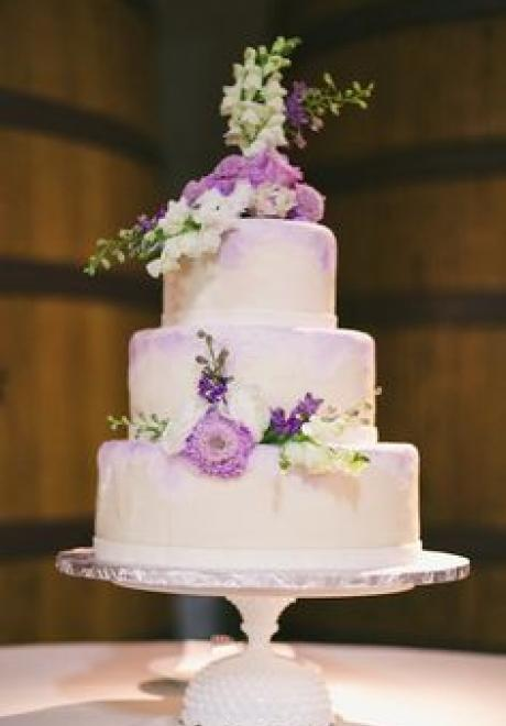 Pink Wedding Cake 7