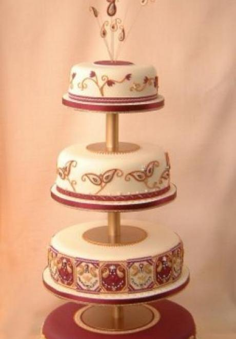 Indian Wedding Cake 3