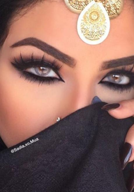 Glamorous Makeup Looks For The Arab Bride