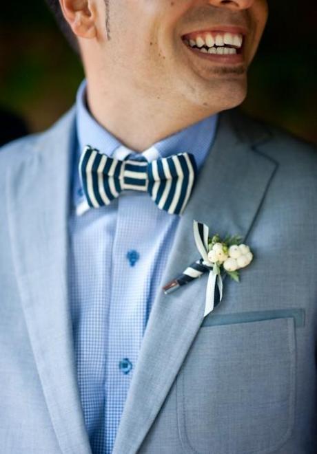 Groom Bow Tie 1