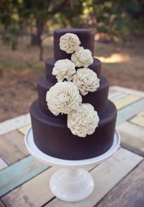 Coffee Wedding Cake