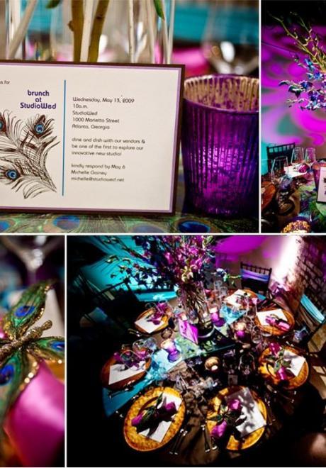 Peacock Wedding Theme 22