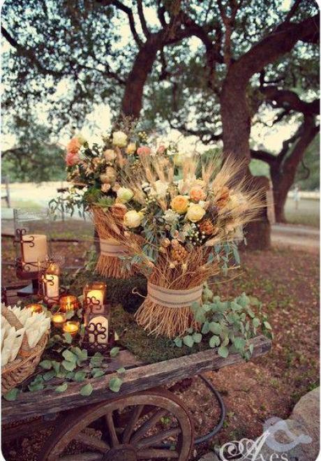 Rustic Chic Wedding Theme 12
