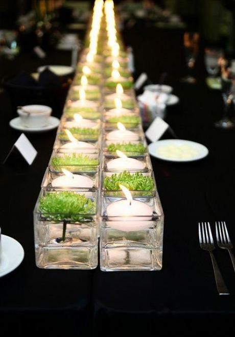 Beautiful Ideas For Candle Centerpieces