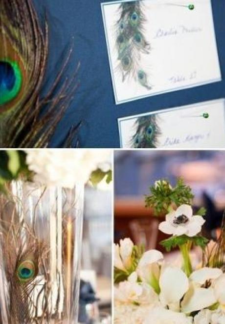 Peacock Wedding Theme 29