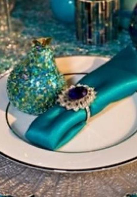 Peacock Wedding Theme 33
