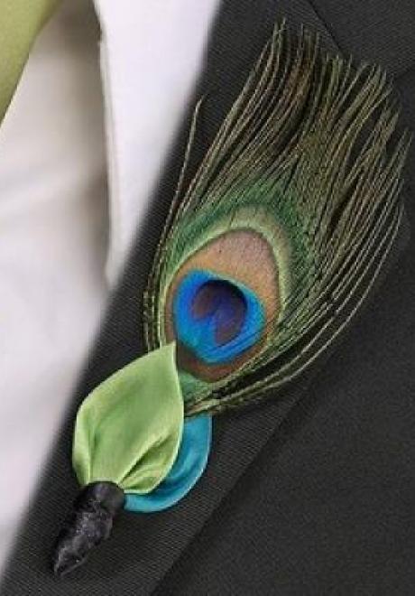 Peacock Wedding Theme 34