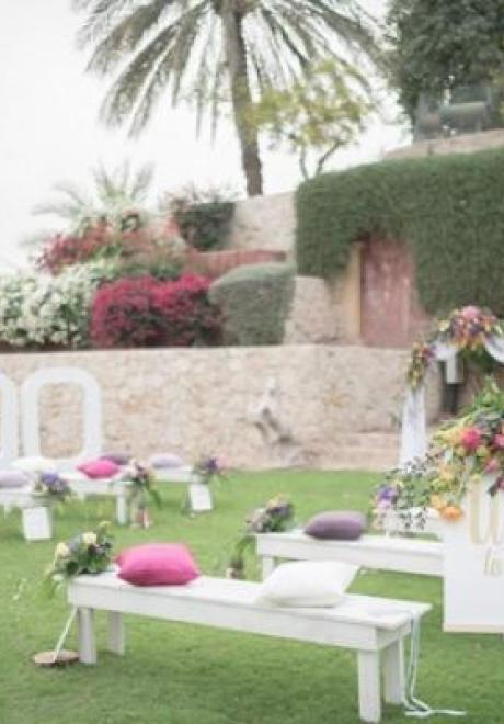 A Desert Palm Wedding
