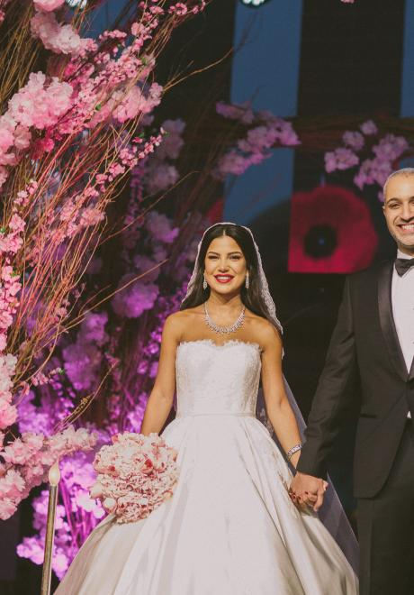 The Wedding of Renad and Nizar in Cairo