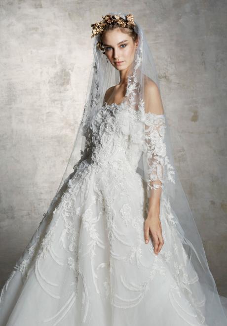 2019 Marchesa Wedding Dress 1
