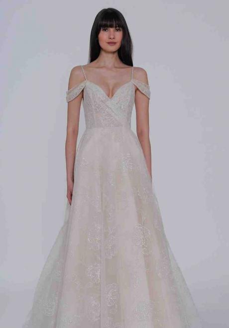 2019 Lazaro Wedding Dress