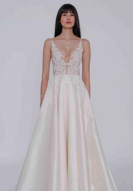 2019 Lazaro Wedding Dresses