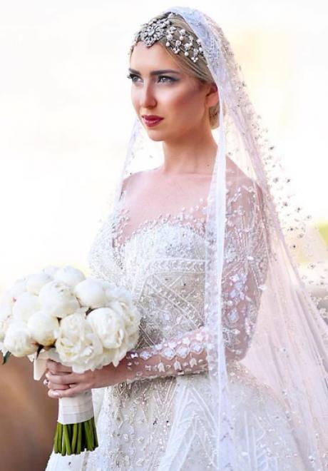 Stunning Brides That Wore Zuhair Murad On Their Wedding Day