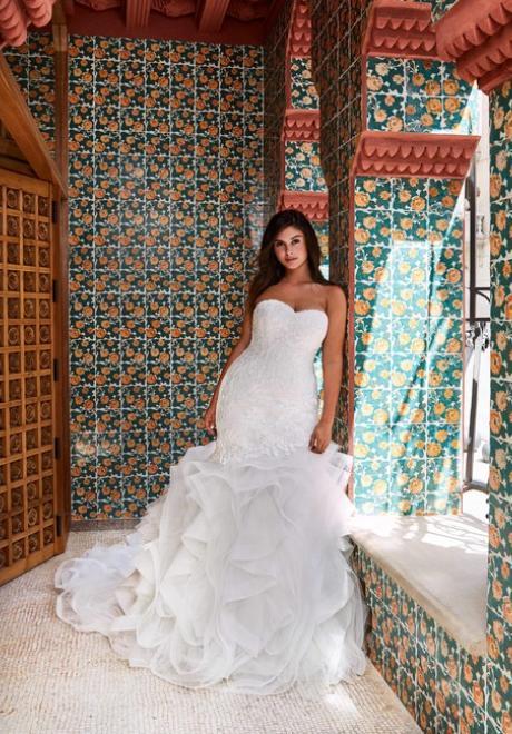 The 2019 Pronovias x Kleinfeld Wedding Dress Collection