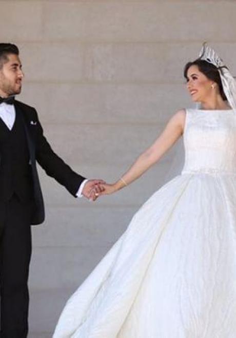 The Magical Wedding of Jinan and Abdullah 8