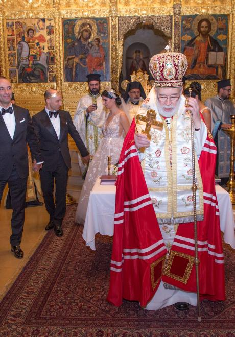 حفل زفاف من وحي الحكايات الخيالية في لبنان