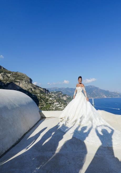 حفل زفاف ماريان ومارك في ساحل أمالفي في إيطاليا