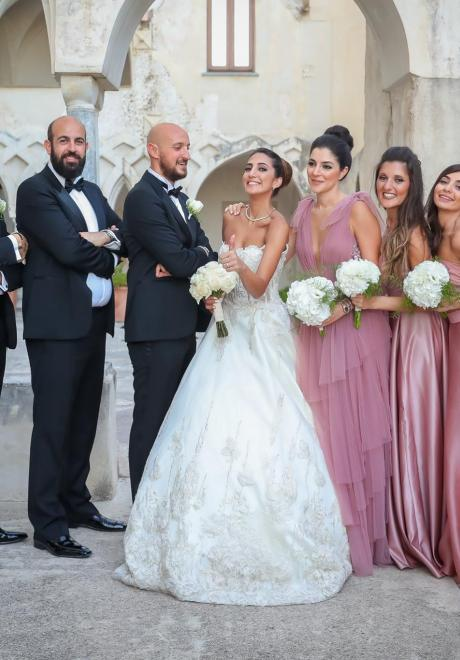 Marianne And Marc's Wedding In Italy's Amalfi Coast