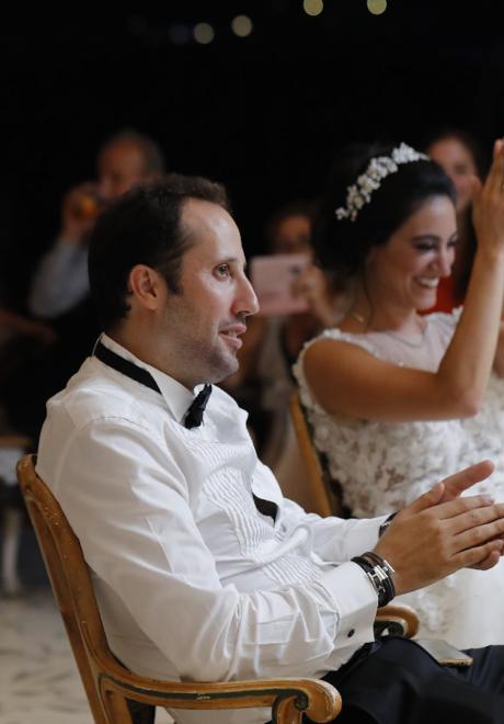 حفل زفاف كريستل وإيلي- من بيروت إلى بحيرة كومو