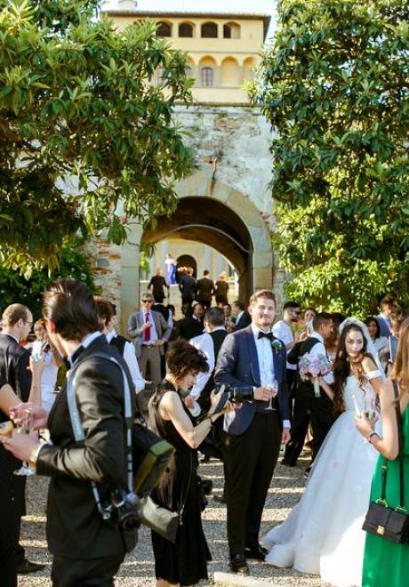 The Wedding of Tania and Andrey in Florence