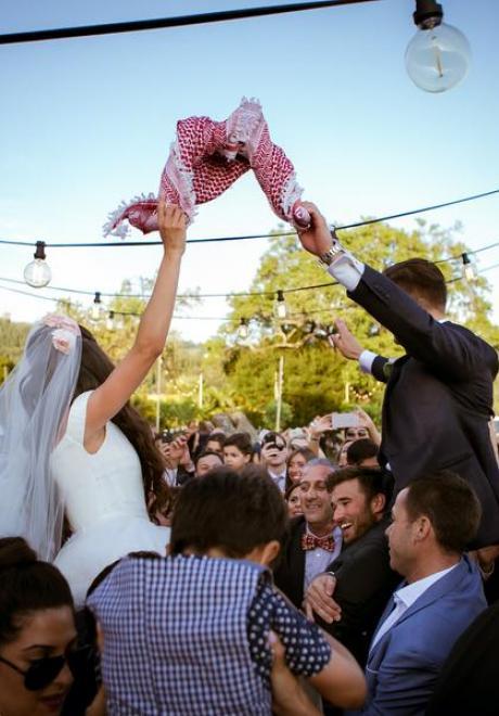 حفل زفاف تانيا وأندري في فلورنسا