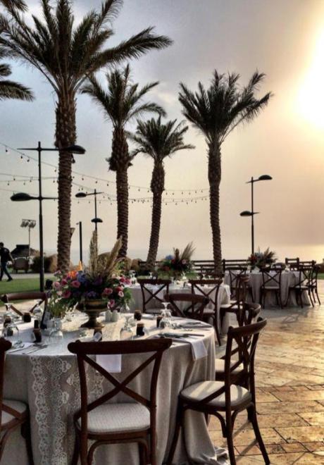 Mohammad and Dalia's Wedding At The Dead Sea