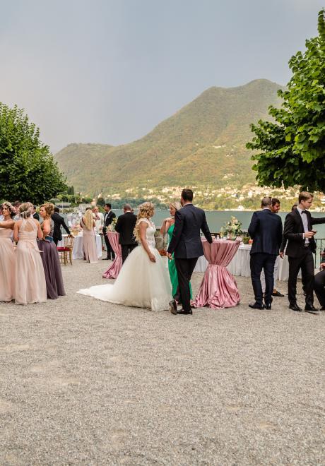 Hazim and Bianca's Destination Wedding in Lake Como