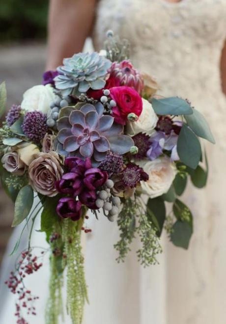 Winter Wedding Bouquet Ideas