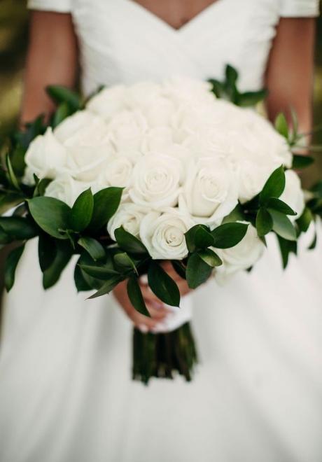 Wonderful Wedding Bouquets of Roses