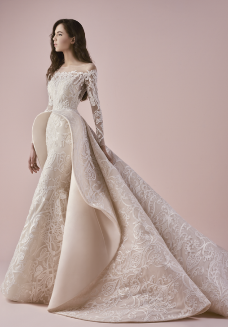 Saiid Kobeisy's Bridal 2018 Collection Is All About Glamour