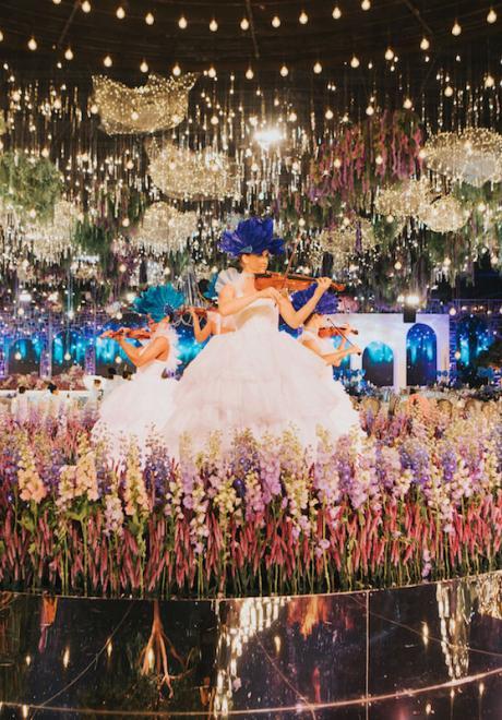 حفل زفاف الشيخة زلفة والشيخ جاسم في قطر