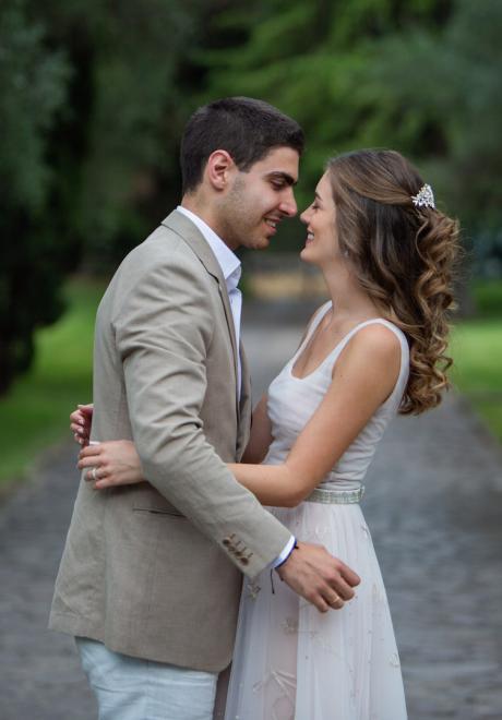 Nicolas and Ayla's Destination Wedding in Rome