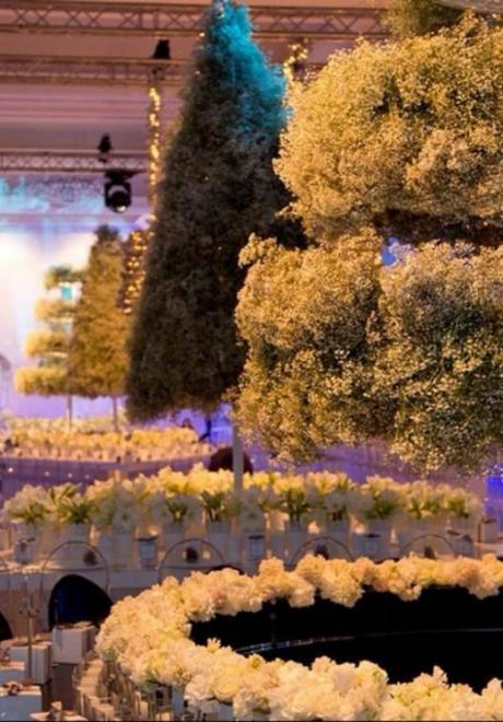 """Inside a Magical """"Winter Wonderland Wedding"""""""