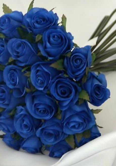 Blue Bridal Bouquets For The Bride of 2020