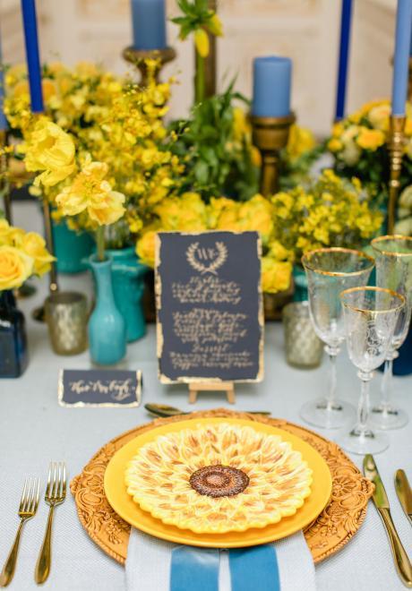 The Beautiful Van Gogh's Lucid Dreams Wedding Photoshoot