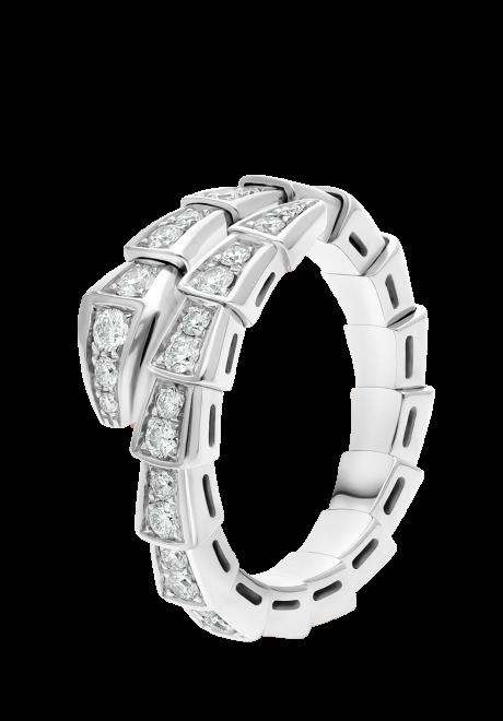 Serpenti Viper Bulgari Rings For The Modern Bride