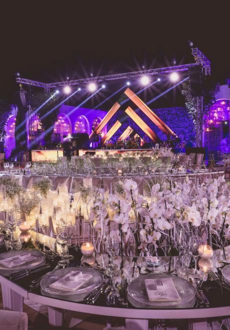 Floral Infinity Wedding by Paul Nasr
