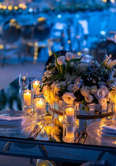 A White Floral Fantasy Wedding in Amman