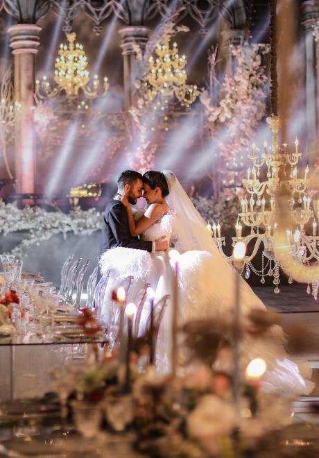 Once Upon a December Wedding in Lebanon